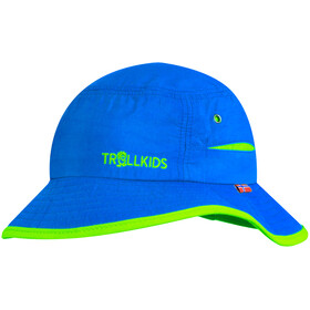 TROLLKIDS Trollfjord Mütze Kinder medium blue/light green